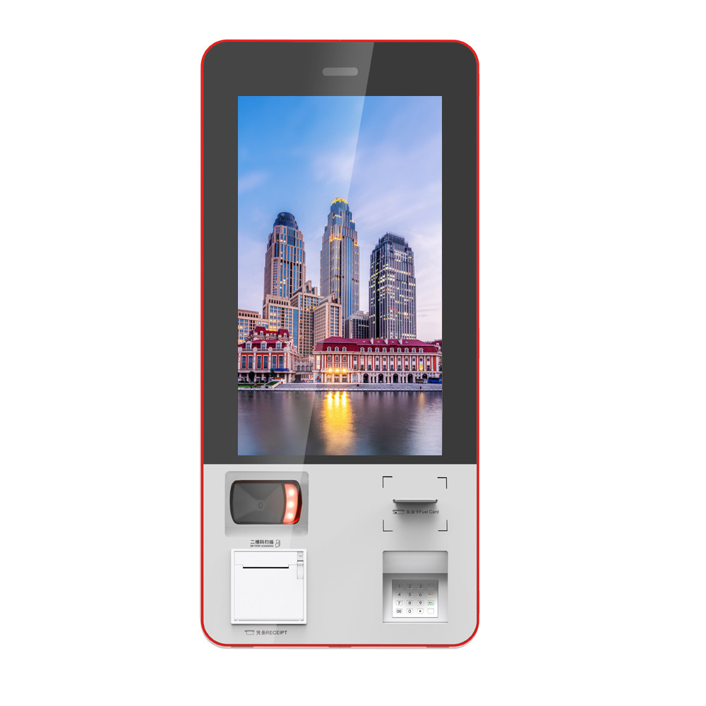 Multifunction Self Service Photo , ticketing , card printing Wall Mounted Bill Payment Kiosk