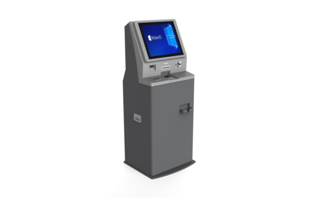 Financial Services in-store Auto-Pay Bill Payment Kiosk For Cash-Preferred Customers Debit