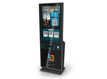 43 inch Free Standing Kiosk/Self-service Kiosk/Payment Kiosk with Ticket Printing,Card dispenssing & cash payment by LKS